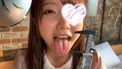 [Individual] shooting geki Kawa Pretty Music College students to measure their own tongue! Yui