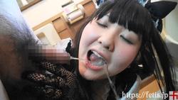 Fat Pocha Face Kawaii Sora Drinking & Pissing