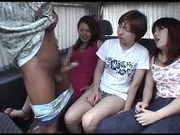 【ツバメの巣】スケベ女子3人組と絶倫チ●ポのセックス旅 #001