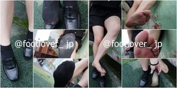 [Image + Video] Concept Cafe Manager's stuffy socks! Raw bare feet!