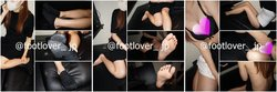 [Image + video] 20-year-old JD-chan's second wet socks! Cold bare feet! Bra and panchira!