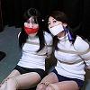 Photoset[#2184] Study of Bondage - A Milf Ties a Girl