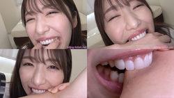 [Bite] Healing bite by beautiful Haruna! [Haruna Kawakita]