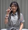 ① Video of Mitsuki Nagisa's live saliva