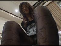 【CF】【リマスター版】黒の誘惑・魅惑のパンスト美脚フェチ #022