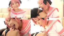 [Tongue tongue tongue face licking] Popular anime F ● O Ast ● Fo (Miyazawa Chiharu) tongue tongue tongue face licking spit sticky nose hole tongue blame!
