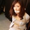 Photoset[#2024] The Entrapped Secretary - Yui Iikura in Distress