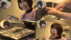 【生き物】新川ゆずちゃんがイワナを生きたまま串焼きにして食べる!【食事】