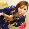 [Image] [Henati] Megumi summer rolled without semen with a yukata kimono