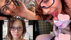 【個人撮影】インテリ系爆乳女子の喉奥責め&自撮り乳圧鼻フェラ しょうこ