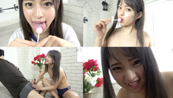 [Ejaculation management] Popular actress Mitsuki Nagisa's candy licking & M man ejaculation management! !! !!