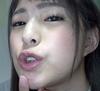 ② Subjective observation of Mitsuki Nagisa's tongue! Subjective lens licking!