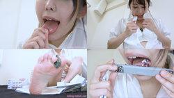[Giant daughter] Attack of a giant nurse [Mizuki Yayoi]
