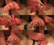 [Video] Foot Treasure Museum ★ Pedicure Coloring Video ☆ Seika