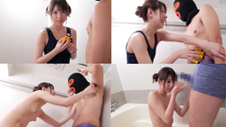 [F → M] A movie of tickling M man in the bathroom of Reina Aoi and being sentenced to hell! !!