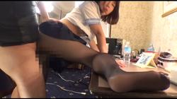 【ジャネス】セーラー服×黒パンスト #003