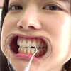 [Tooth / oral fetish] Popular actress Chiharu Miyazawa's naughty teeth & tongue tongue & oral movie! !! !!